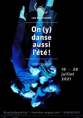 Visuel On (y) danse aussi l'été ! 2021