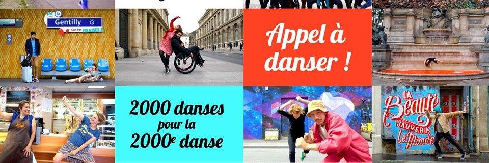 Appel 2000e minute à danser