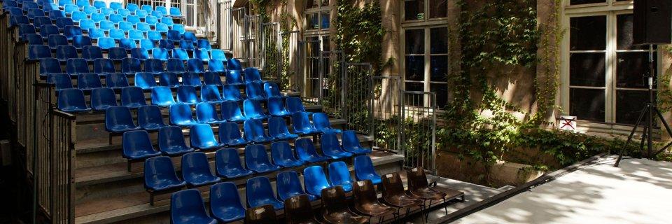 Jardin de la Vierge du lycée Saint-Joseph © Christophe Raynaud de Lage