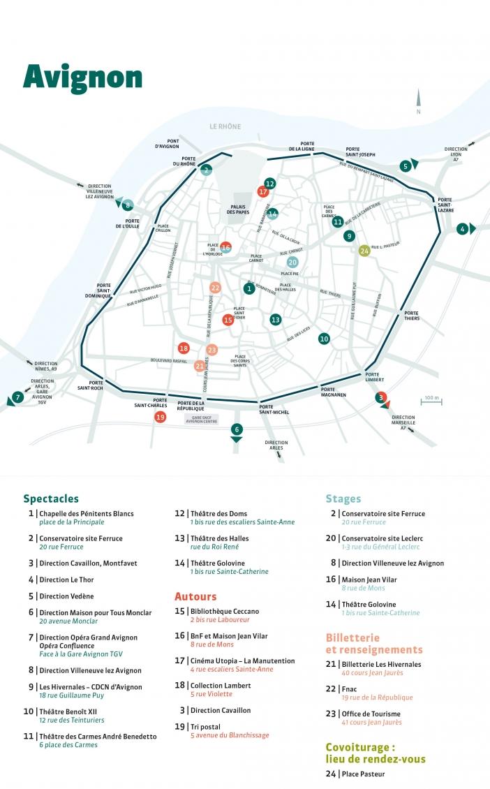 Plan Avignon H#19