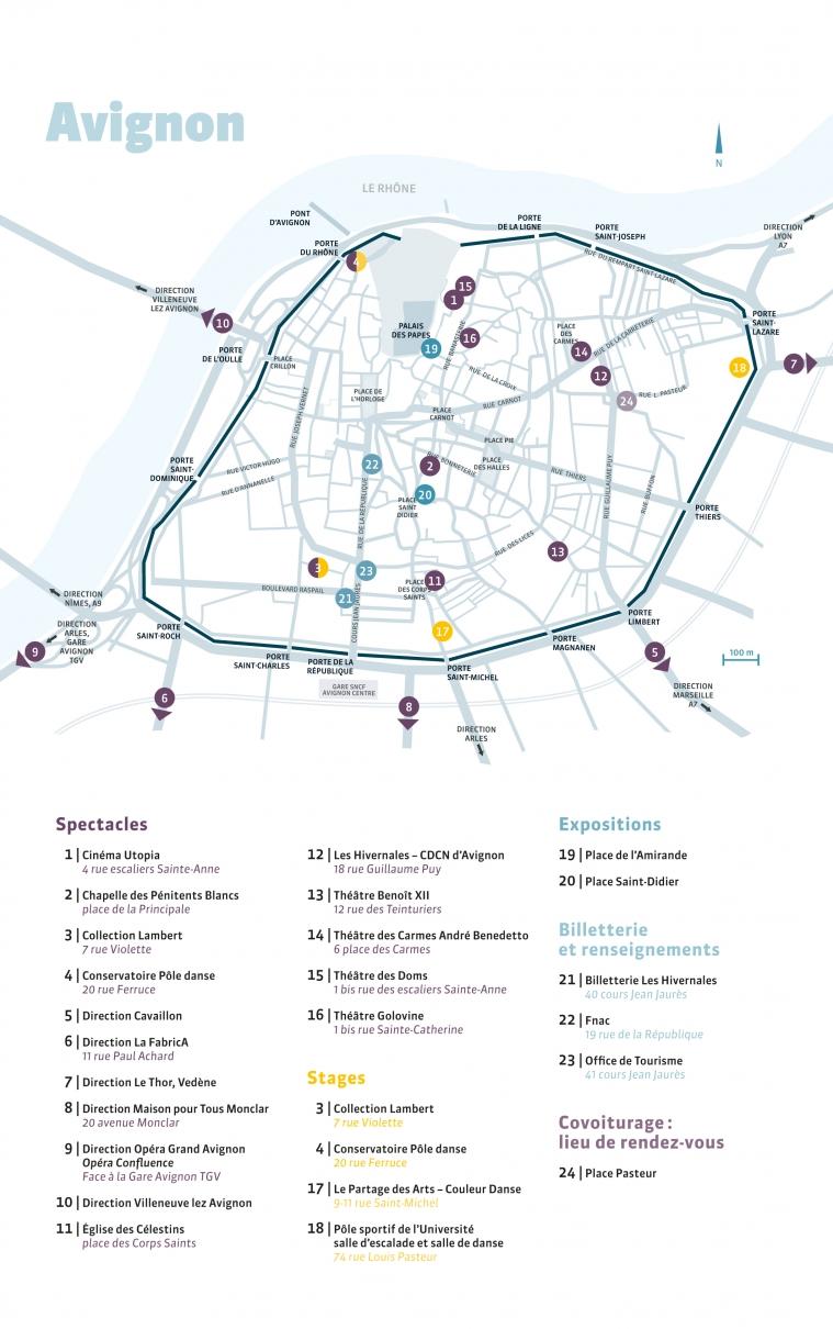 Plan lieux Hivernales 2018