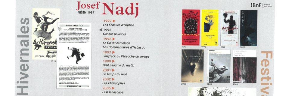 Réactiver les archives-Nadj